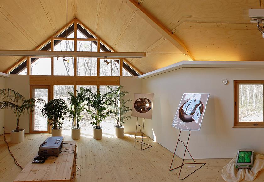 「球体の中から見る360°世界」パノラマ展